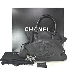 efb49406bdb2 Women s Chanel Tote Caviar Black on Poshmark